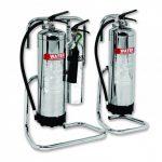Chrome extinguishers